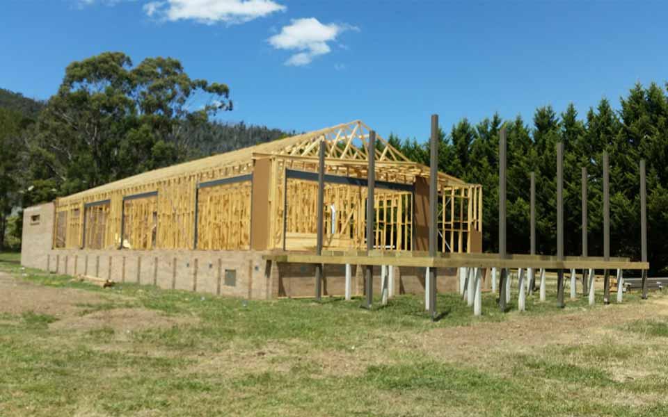 Buxton New House Cmj Building Construction