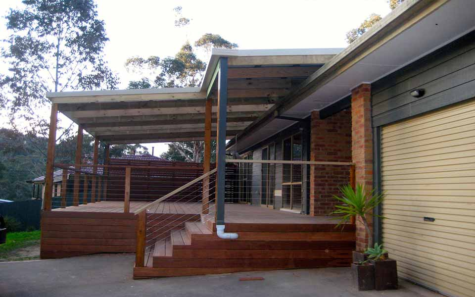 Mt Evelyn Extension Deck Carport Cmj Building